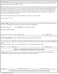 Da Form 4856 Initial Counseling Fillable Template Exle For Event Oriented Counseling Armystudyguide Com