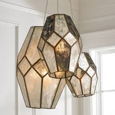 Chicken Wire Chandelier Young House Love Mercury Glass Prism Chandelier Shades Of Light