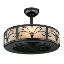 Ceiling Fan With Cage Light Cage Enclosed Ceiling Fans Hum Home Review