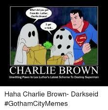 Charlie Brown Memes - 25 best memes about charlie brown i got a rock charlie brown i