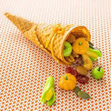 sugar cone cornucopia treats to make for thanksgiving best of