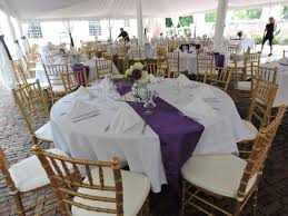 Vail Round Table Erik Organic Loved This Outdoor Wedding Look With Gold Chiavari Chairs White