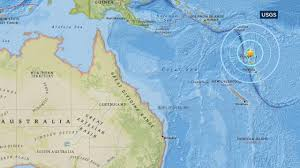Map Of South Pacific 6 8 Magnitude Earthquake Strikes Off Vanuatu In South Pacific