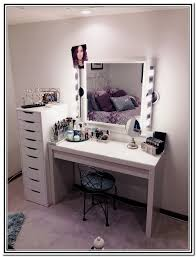 Amazing Lights Vanity Furniture Reference N Makeup Set With Inside