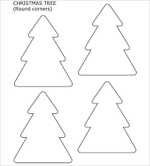 christmas tree shapes templates part 47 winning christmas gifts