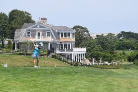 trees destroyed along edge of seaside links golf course cape cod