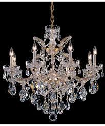 Crystorama Chandeliers Sale Crystorama 4409 Maria Theresa 28 Inch Wide 9 Light Chandelier