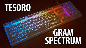 Spectrum Lighting Tesoro Gram Spectrum Lighting Effects Youtube