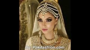 Red Bridal Dress Makeup For Brides Pakifashionpakifashion Beautiful Maang Tikka And Matha Patti Styles For Bridals Youtube