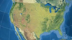 louisiana elevation map louisiana region extruded on the elevation map of united states