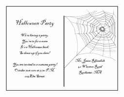 printable postcard template for students halloween postcard invitations