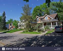 Canadian Houses Canadian Houses Stock Photo Royalty Free Image 37309488 Alamy
