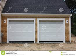 28 two car garages unpainted t1 11 two car garage economy two car garages new 2 car garage stock image image 28698321