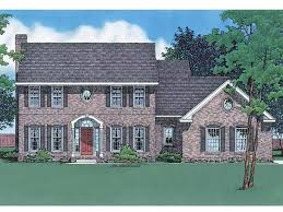 brick colonial house plans 64 best house plans images on historic houses