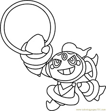 pokemon coloring pages rotom image result for pokemon coloring pages hoopa pokemon and amy