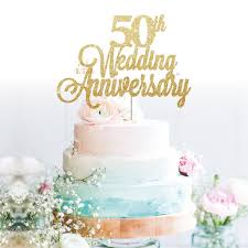 50th wedding anniversary cake topper 50th wedding anniversary cake topper oh so glitter