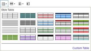 Change Table Style Docs Changing Table Styles In Presentations