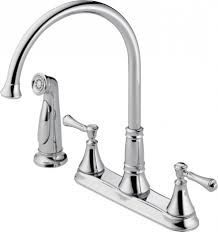 removing delta kitchen faucet install delta lewiston kitchen faucet therobotechpage