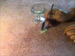 how to remove dry nail polish from carpet using hair gel youtube
