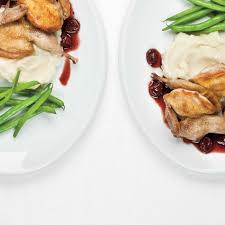 roasted quail with cherry and red wine sauce ricardo