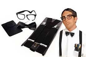 Gentleman Halloween Costume Amazon Unisex Instant Nerd Costume U0026 Accessory Kit Express
