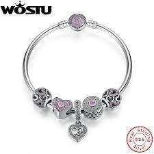 bracelet luxury charms images Online shop hot sale 100 925 sterling silver bangles bracelet jpg