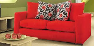 Red Sofa Slipcovers 3 Seater Red Sofa