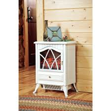 Electric Space Heater Fireplace by White 400 Square Foot Electric Space Heater Fireplace Stove