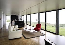 minimalist home bay window seating ideas black metallic frame