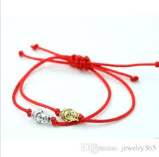 bracelet with red string images Red string chinese knot string buddha lucky red cord adjustable jpg