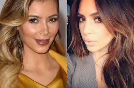 blonde to brunette hair blonde to brunette hair color kim kardashian