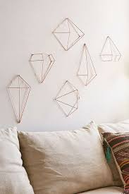 urbanoutfitters himmeli style copper decorations set 6 39