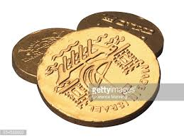 hanukkah chocolate coins colorful hanukkah chocolate coins stock photo getty images