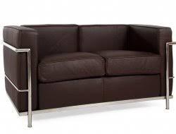 canape cuir le corbusier imitation de canapé design le corbusier lc2 lounge knoll swan