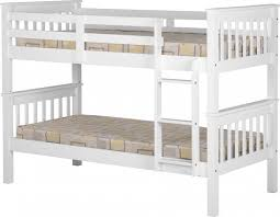 3ft Bunk Beds Neptune 3ft Single Wooden Bunk Bed In White Discountsland Co Uk