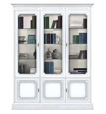 glass door bookcase white best bookcase with glass doors ideas on