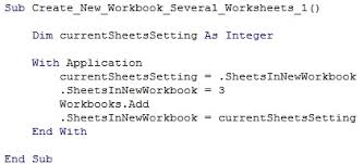 excel vba create new workbook 16 easy to follow macro examples