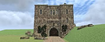 castle home plan with elevator 44109td 2nd floor master suite