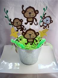 Baby Monkey Centerpieces by 92 Best Baby Shower Images On Pinterest Decorations Events And