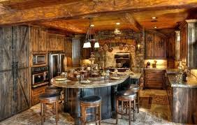 lake home interiors rustic home interior wood beams and paneling line the dining room