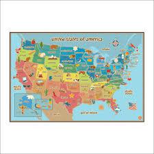 Oregon Usa Map by Ultimate Usa Map For Kids U2013 Wanderland Designs