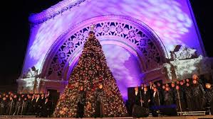 christmas lights san diego december nights to light up balboa park the san diego union tribune