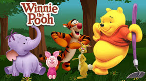 winnie pooh finger family nursery rhymes kids cartoon