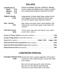 menu it u0027s another beautiful day mandeville louisiana