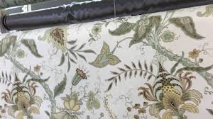 robert allen pontoise mimosa drapery fabric youtube
