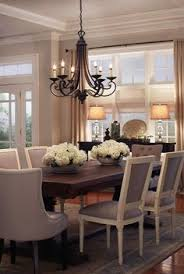 House Of Turquoise Harper Construction I Have These Chairs Great - Dining room table lighting