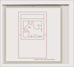photo frame cards how to design a window pop up card in silhouette studio tutorial