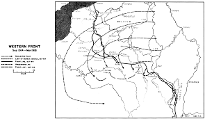 Blank Map Of Western Europe by Chapter 17 World War I The First Three Years