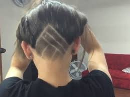 geometric hair tattoo youtube