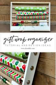 how to make a diy easy gift wrap organizer diva of diy
